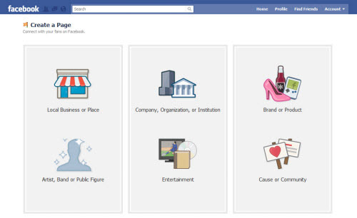 Kreiranje Facebook Fan stranice