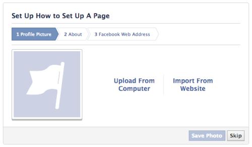 Facebook Upload logo